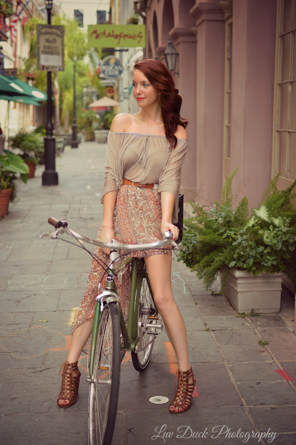 Beautiful Biker