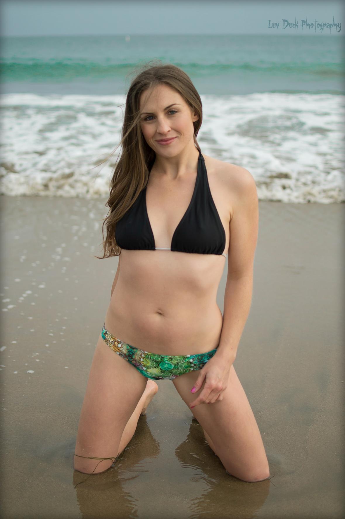 Kalisa on the beach1
